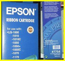 EPSON #7754 NASTRO NERO PER STAMPANTE AD AGHI LQ-1000/1010/1050C/1070/1170/1600k
