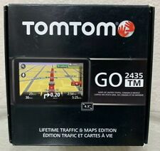Tomtom GO 2435 TM Traffic And Maps GPS New Open Box