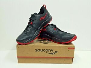 saucony PEREGRINE 10 Women's TRAIL Running Shoes Size 10.5 (Black/Pink) NEW