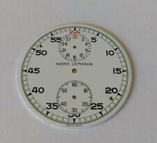 Nero Lemania Pocket Watch Dial 44mm Approx Enamel