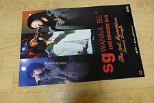 SG Wannabe Live Concert DVD  *Official POSTER* KPOP