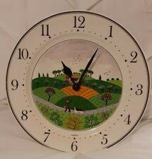 Spring Summer Autumn Winter Villeroy /& Boch Laplau Retail Wall Clock