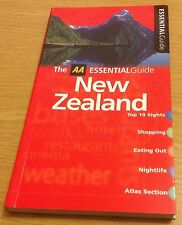 NEW ZEALAND The AA Essential Guide Book (Paperback) NEW