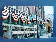 Postcard TN Memphis A. Schwab Department Store Exterior
