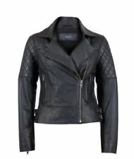 Leather Motorcycle Coats & Jackets for Women