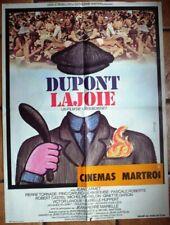 Affiche DUPONT LAJOIE (Boisset / Carmet)  80x60 cm