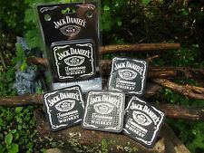 Jack Daniels Old No. 7 Coaster Set - Game Room - Bar - Mat - Tennessee Whiskey
