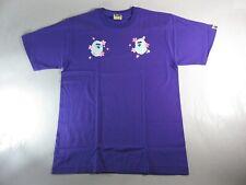 20463 bape sakura arch bape face purple tee XL