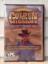 Golden Trails-New Western Rush-Hidden Object Abenteuer PC Spiel-NEU