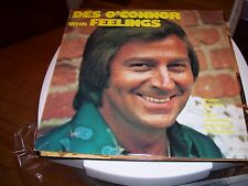 DES O'CONNOR WITH FEELINGS-LP-NM-PYE RECORDS-MISTY-LOVE ME TENDER-SPANISH EYES