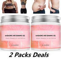 2 X Anti Cellulite Slimming Weight Loss Cream Fat Burner Firming Body Hot Cream