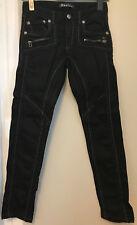K&M Kosmo Lupo Damen Jeans 29 grauschwarz