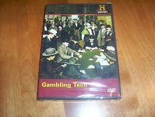 GAMBLING TECH OLD WEST Gun Gambler Poker Card Dice Games History Channel DVD NEW