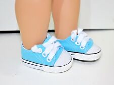 "Our Generation American Girl Doll 18"" Dolls Clothes Shoes Blue Sneaker Runners"