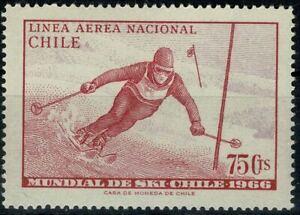 CHILI 1966 CHAMPIONNAT du MONDE PA  YT n° 232 Neuf ★★ luxe / MNH