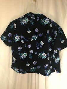 NYCC Vintage 1990's Petite Floral Shirt