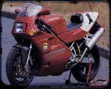 Ducati 888 Sp5 94 5 A4 Metal Sign Motorbike Vintage Aged
