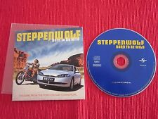 CD SINGLE STEPPENWOLF BORN TO BE WILD MOVE OVER ROCK ME EASY RIDER