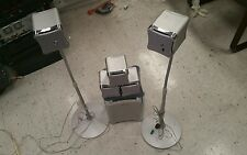 5 SONY SS-TS503 SURROUND SOUND SPEAKERS f/r Left/Right and Subwoofer SS-WS503