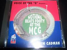 Jim Cadman – Voice Of The G Nothing Beats Footy At The MCG AFL CD Single