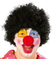Parrucca clown nera economica