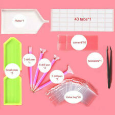 5D Diamond Painting Tools And Accessories Kits Embroidery Box Adults Or Kids