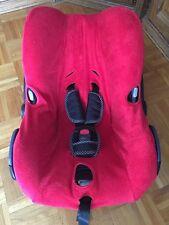 Sommerbezug Schonbezug Frottee für Maxi-cosi Citi City NEU rot