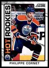 2012-13 Score Hot Rookies Philippe Cornet #501
