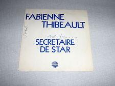 FABIENNE THIBEAULT 45 TOURS FRANCE PROMO BALAVOINE