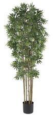 Nearly Natural 5045-NT Bamboo Japanica Silk Tree- 6-Feet- Natural