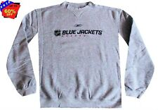 Nhl Mens Apparel - Columbus Blue Jackets Mens Reebok NHL Crew Sweatshirt,nwt, XL