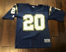 Vintage Starter San Diego Chargers #20 Natrone Means Football Jersey Men's 46/M
