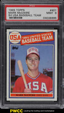 1985 Topps Mark McGwire ROOKIE RC #401 PSA 9 MINT (PWCC)