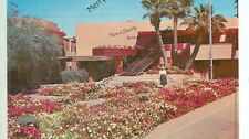 """CALIFORNIA, PALM SPRINGS PATIO IN """"THE CENTER""""  TOWN & COUNTRY RESTAURANT(CA-P)"""