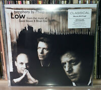 DAVID BOWIE - PHILIP GLASS - BRIAN ENO LOW SYMPHONY - MOV - MUSIC ON VINYL - LP