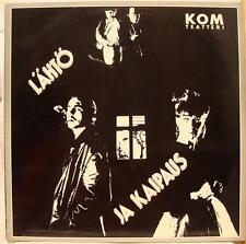 Kom Teatteri - Lahto Ja Kaipaus LP VG+ RAMI 3004 Vinyl 1988 Record