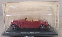 TRACTION 22 CABRIOLET 1934 - 1/43EME - ATLAS - NEUF SOUS BLISTER !!