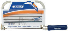 Draper Coping Saw With 5 Spare Blades 18052