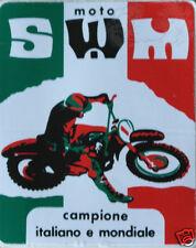 adesivo originale dell' epoca MOTO SWM