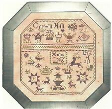 """Praiseworthy Stitches """"Red Stag Sampler"""" Pattern"""