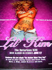 Lil Kim Sensational Sexy Photo Promo Poster Ad from 2000
