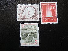 AUTRICHE - timbre - yvert et tellier n° 924 a 926 n** - stamp austria (A3)