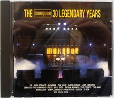 Various Artists - The Marquee 30 Legendary Years (CD 1989) Classic Rock Comp