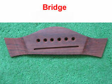 Luthier - Indian Rosewood Steel String Bridge - New