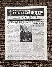 VERY RARE 2005 The Chosin Few Korea News Digest: Number 1, U.S. Marine Corps