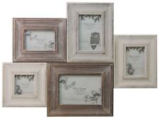 Shabby Chic Woodland Multi Photo Frame ~ Wooden Collage Picture Frame