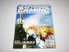 Electronic Gaming Monthly Magazine #195 Soul Calibur III Back Issue 2005 RARE
