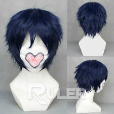 Ao no Blue Exorcist Okumura Rin FAIRY TAIL Gray Fullbuster Cosplay Wig COS-212A