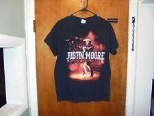 Justin Moore : Off The Beaten Path Tour T Shirt Medium Size ( M ) Black