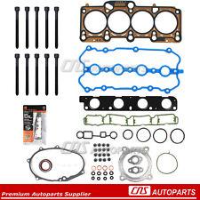 Head Gasket & Bolt Set Fits 05-09 Audi A4 Volkswagen Jetta Passat GTi 2.0L L4